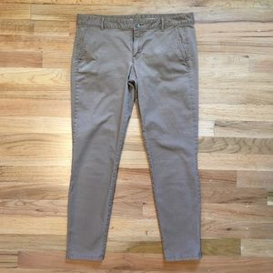 The GAP skinny mini cropped khakis.